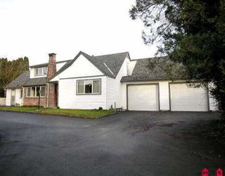 Main Photo: 34623 ASCOTT AV in Abbotsford: Abbotsford East House for sale : MLS®# F2525728