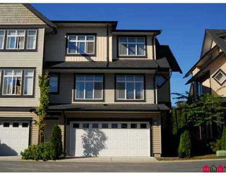 "Photo 2: 5 19932 70TH Avenue in Langley: Willoughby Heights Townhouse for sale in ""Summerwood"" : MLS®# F2723496"