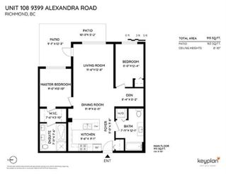 "Photo 20: 108 9399 ALEXANDRA Road in Richmond: West Cambie Condo for sale in ""ALEXANDRA COURT"" : MLS®# R2443369"