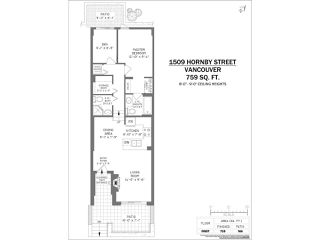 Photo 20: 1509 HORNBY Street in Vancouver: Yaletown Townhouse for sale (Vancouver West)  : MLS®# R2444707