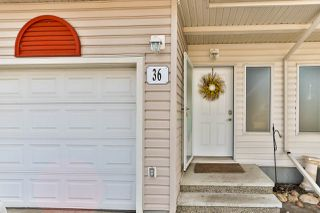 Photo 2: 36 451 HYNDMAN Crescent in Edmonton: Zone 35 Townhouse for sale : MLS®# E4191608