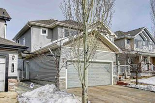 Main Photo: 1539 RUTHERFORD Road in Edmonton: Zone 55 House Half Duplex for sale : MLS®# E4192704