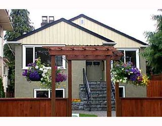 """Photo 1: 905 W 23RD Avenue in Vancouver: Cambie House for sale in """"DOUGLAS PARK"""" (Vancouver West)  : MLS®# V688556"""