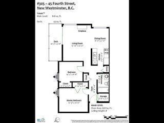 """Photo 23: 305 45 FOURTH Street in New Westminster: Downtown NW Condo for sale in """"DORCHESTER"""" : MLS®# R2515848"""