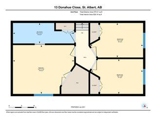 Photo 39: 13 Donahue Close: St. Albert House for sale : MLS®# E4225002
