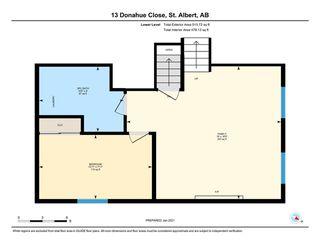Photo 40: 13 Donahue Close: St. Albert House for sale : MLS®# E4225002