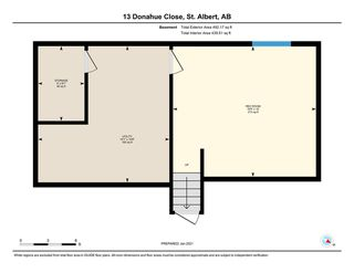 Photo 41: 13 Donahue Close: St. Albert House for sale : MLS®# E4225002