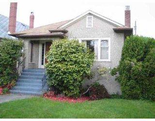 Main Photo: 3237 W 16TH AV in Vancouver: Kitsilano House for sale (Vancouver West)  : MLS®# V536659