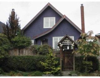 Main Photo: 1541 E 12TH AV in Vancouver: Grandview VE House for sale (Vancouver East)  : MLS®# V558473