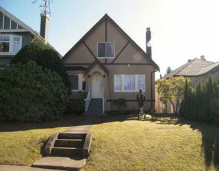Photo 1: 3974 W 21ST Ave in Vancouver: Dunbar House for sale (Vancouver West)  : MLS®# V636566