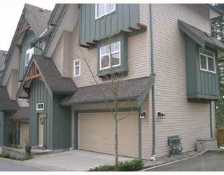Photo 1: 50 PANORAMA Place in Port Moody: Heritage Woods PM Townhouse for sale : MLS®# V641431