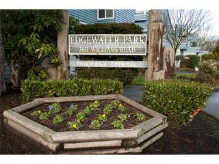 "Photo 1: # 129 3031 WILLIAMS RD in Richmond: Seafair Condo for sale in ""EDGEWATER PARK"" : MLS®# V928024"
