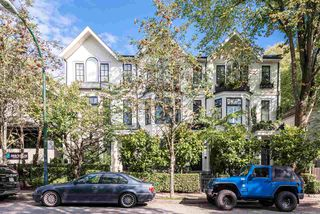 Main Photo: 2574 VINE Street in Vancouver: Kitsilano Townhouse for sale (Vancouver West)  : MLS®# R2406992