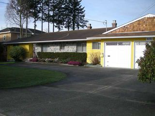 Main Photo: 9151 GILBERT RD in Richmond: Woodwards House for sale : MLS®# V880028