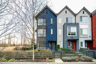"Photo 1: 12 2332 RANGER Lane in Port Coquitlam: Riverwood Townhouse for sale in ""Fremont Blue"" : MLS®# R2422857"