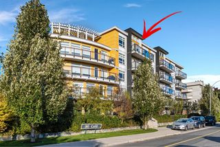 Photo 1: 506 935 Cloverdale Ave in : SE Quadra Condo for sale (Saanich East)  : MLS®# 858376
