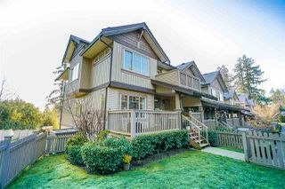 """Photo 1: 9 6238 192 Street in Surrey: Cloverdale BC Townhouse for sale in """"Bakerview Terrace"""" (Cloverdale)  : MLS®# R2442688"""