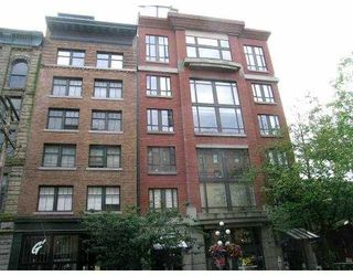 "Photo 1: 401 28 POWELL Street in Vancouver: Downtown VE Condo for sale in ""POWELL LANE"" (Vancouver East)  : MLS®# V655366"