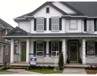 """Photo 1: 7021 180TH Street in Surrey: Cloverdale BC Townhouse for sale in """"PROVINCETON"""" (Cloverdale)  : MLS®# F2730643"""