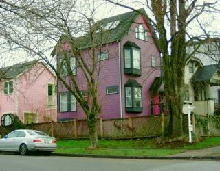 Photo 1: 2001 GRANT Street in Vancouver: Grandview VE House 1/2 Duplex for sale (Vancouver East)  : MLS®# V630435