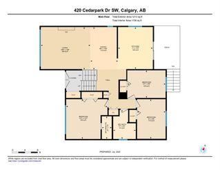 Photo 32: 420 CEDARPARK Drive SW in Calgary: Cedarbrae Detached for sale : MLS®# A1014322