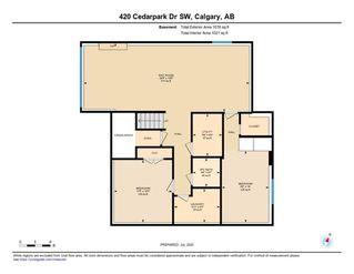 Photo 33: 420 CEDARPARK Drive SW in Calgary: Cedarbrae Detached for sale : MLS®# A1014322