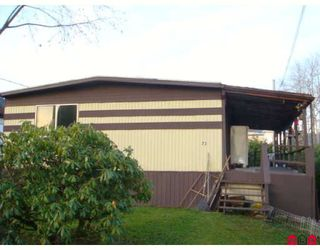 "Photo 1: 73 9950 WILSON Street in Mission: Stave Falls Manufactured Home for sale in ""RUSKIN PLACE"" : MLS®# F2729674"