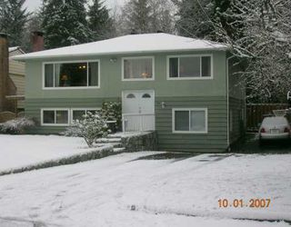 """Photo 1: 1492 E 27TH Street in North Vancouver: Westlynn House for sale in """"WESTLYNN"""" : MLS®# V625974"""