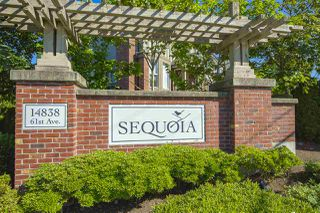 """Photo 1: 74 14838 61 Avenue in Surrey: Sullivan Station Townhouse for sale in """"SEQUOIA"""" : MLS®# R2474675"""