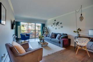 "Photo 1: 111 225 W 3RD Street in North Vancouver: Lower Lonsdale Condo for sale in ""Villa Valencia"" : MLS®# R2476118"