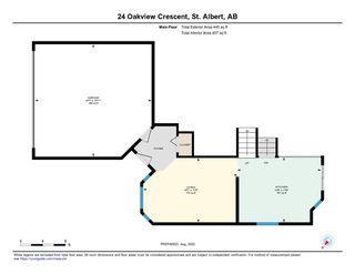 Photo 42: 24 Oakview Crescent: St. Albert House for sale : MLS®# E4219200