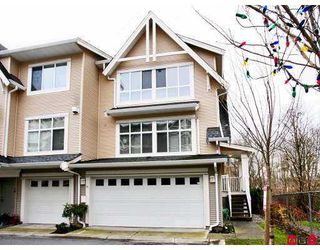 "Photo 1: 6450 199TH Street in Langley: Willoughby Heights Townhouse for sale in ""LOGAN'S LANDING"" : MLS®# F2702893"