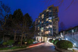 "Photo 1: 1108 2733 CHANDLERY Place in Vancouver: South Marine Condo for sale in ""RIVER DANCE"" (Vancouver East)  : MLS®# R2443604"
