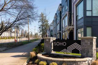 "Photo 1: 128 2280 163 Street in Surrey: Grandview Surrey Townhouse for sale in ""Soho"" (South Surrey White Rock)  : MLS®# R2461801"