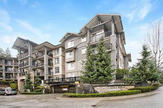 "Main Photo: 404 2969 WHISPER Way in Coquitlam: Westwood Plateau Condo for sale in ""Summerlin at Silver Springs"" : MLS®# R2525741"