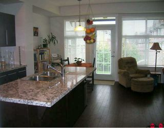 "Photo 5: 24 18199 70TH Avenue in Surrey: Cloverdale BC Townhouse for sale in ""AUGUSTA"" (Cloverdale)  : MLS®# F2923812"