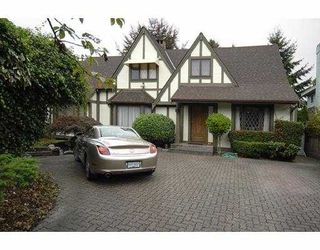 Photo 1: 7061 MARGUERITE Street in Vancouver: South Granville House for sale (Vancouver West)  : MLS®# V683628