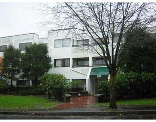 "Main Photo: 307 830 E 7TH Avenue in Vancouver: Mount Pleasant VE Condo for sale in ""FAIRFAX"" (Vancouver East)  : MLS®# V686350"