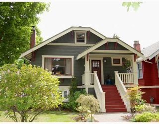 """Photo 1: 556 W 17TH Avenue in Vancouver: Cambie House for sale in """"DOUGLAS PARK"""" (Vancouver West)  : MLS®# V793976"""