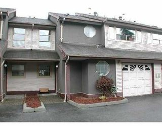 "Photo 1: 27 20841 DEWDNEY TRUNK Road in Maple_Ridge: Northwest Maple Ridge Townhouse for sale in ""KITCHLER STATION"" (Maple Ridge)  : MLS®# V668802"