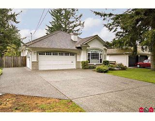 """Photo 1: 20947 44TH Avenue in Langley: Brookswood Langley House for sale in """"Uplands/Brookswood"""" : MLS®# F2813849"""