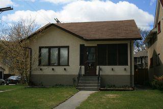 Main Photo: 160 Sherburn St./ Wolseley in Winnipeg: West End / Wolseley Single Family Detached for sale ()  : MLS®# 2804419