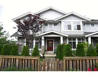 "Photo 1: 64 20449 66TH Avenue in Langley: Willoughby Heights Townhouse for sale in ""NATURES LANDING"" : MLS®# F2724203"