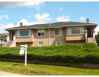 "Photo 2: 1486 CARLETON Avenue in Burnaby: Willingdon Heights House Duplex for sale in ""WILLINGDON HEIGHTS"" (Burnaby North)  : MLS®# V671248"