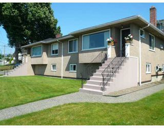 "Photo 1: 1486 CARLETON Avenue in Burnaby: Willingdon Heights House Duplex for sale in ""WILLINGDON HEIGHTS"" (Burnaby North)  : MLS®# V671248"