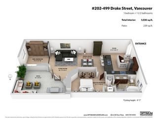 "Photo 20: 202 499 DRAKE Street in Vancouver: Yaletown Condo for sale in ""The Grace Residences"" (Vancouver West)  : MLS®# R2429461"