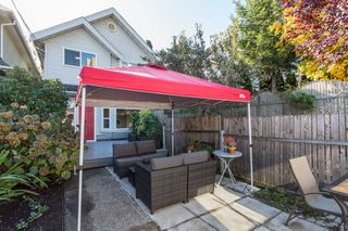Photo 1: 637 E PENDER Street in Vancouver: Strathcona 1/2 Duplex for sale (Vancouver East)  : MLS®# R2512488