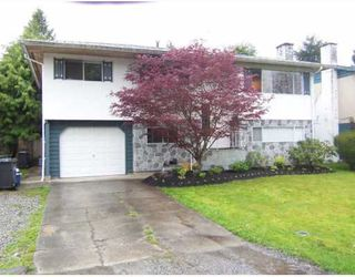 Photo 1: 3527 FREMONT Street in Port_Coquitlam: Lincoln Park PQ House for sale (Port Coquitlam)  : MLS®# V643233