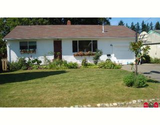 "Photo 1: 2779 VICTORIA Street in Abbotsford: Abbotsford West House for sale in ""CLEARBROOK"" : MLS®# F2727535"