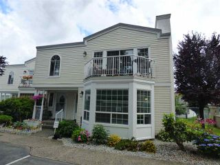 "Photo 1: 101 9540 COOK Street in Chilliwack: Chilliwack N Yale-Well Townhouse for sale in ""ROSE ARBOR"" : MLS®# R2388420"